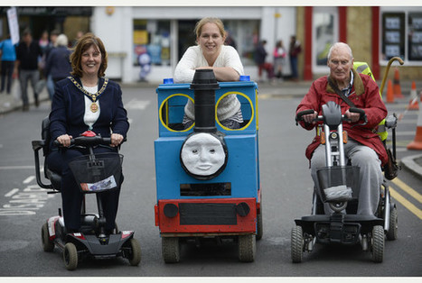 St Ives holds its first mobility scooter grand prix   Boxkarts   Scoop.it