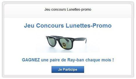 Jeu Concours - Lunettes Promo | Lunettes Promo | Scoop.it