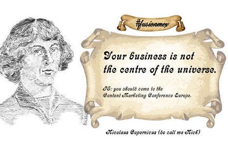 Content Marketing: the Copernican Revolution   Yogesh Kumar- Blog Author   Scoop.it