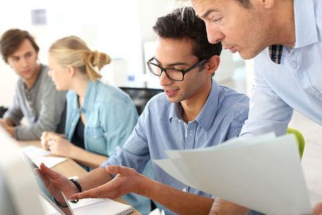 Enquête: le stage est-il un tremplin vers l'emploi? [Infographie] | Entretiens Professionnels | Scoop.it