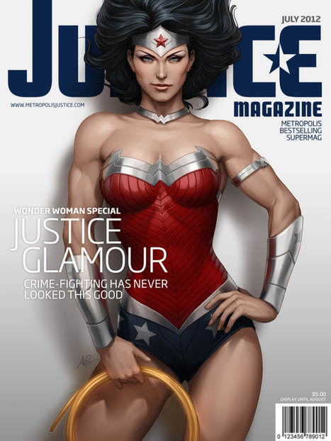 Justice Magazine Covers Starring DC Comics Characters | All Geeks | Scoop.it