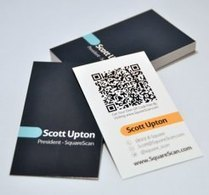 Custom QR Codes for your Business Needs - The Shape Of Communication | QR Code Business Card | Scoop.it
