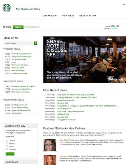 Una mirada a la estrategia digital de Starbucks   Revista Merca2.0   Relaciones Públicas   Scoop.it