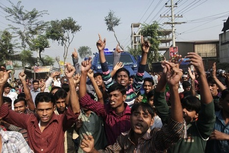 Thousands protest after Bangladesh fire traps workers, kills at least 112 | Asian Labour Update | Scoop.it