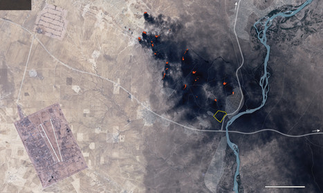 How the Islamic State is using scorched earth tactics as it retreats | Human Geography | Scoop.it