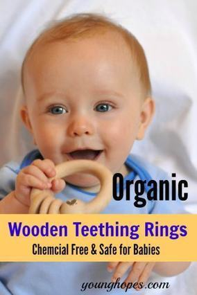 9 Best Organic Wooden Teething Rings for Babies • | All Occasion Gifts | Scoop.it
