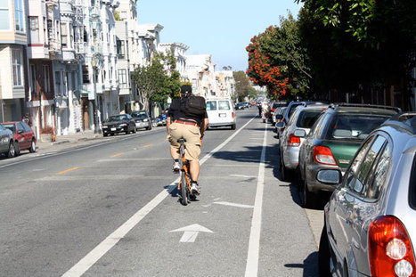 San Francisco tries new bike lanes | Geography Education | Scoop.it