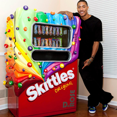 Olson Made a Skittles Waterfall to Surprise a Superfan - The Minneapolis Egotist | Cool Brand Campaigns | Scoop.it