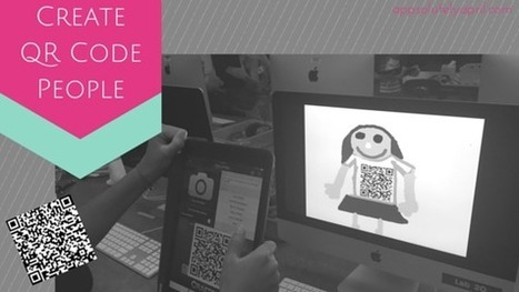 QR Code People | APPSOLUTELY APRIL | Educating for Empathy and Emotional Well-Being | Scoop.it