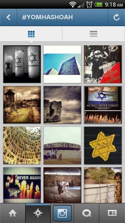Instagram Floods With Holocaust Remembrance Photos For Yom HaShoah