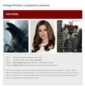 'Godzilla' Strikes Cannes As Copyright Holder Sues Voltage Over Anne Hathaway Pic For Sale At Festival | Copyright news and views from around the world | Scoop.it