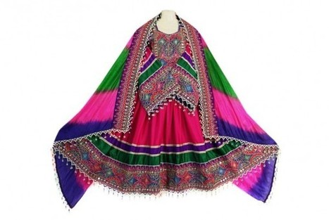 Buy New Design Afghani Dress Kuchi Brides Fashionable Costume | Buy Belly Dance Jewelry Tribal Fusion Bellywood | Scoop.it