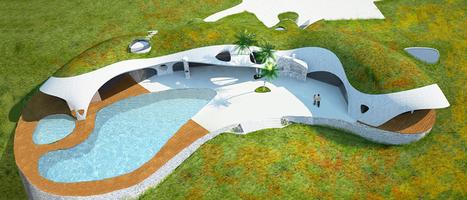 Wiwaxum Haustorium - urbanbikecom: (via Eco-shell dome houses could... | Human Potential | pulse | Scoop.it
