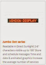 Buy Window Displays & Signage for Your Store | Industrial Led Displays - Adsystemsled | Scoop.it
