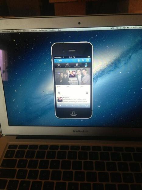 Twitter / BaptisteDes: Avoir un iPhone dans un Mac ... | feature phone | Scoop.it