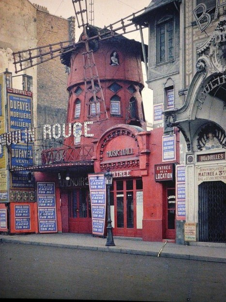 1914 : Paris in Colour - Retronaut | New York et Paris - Capitales. | Scoop.it