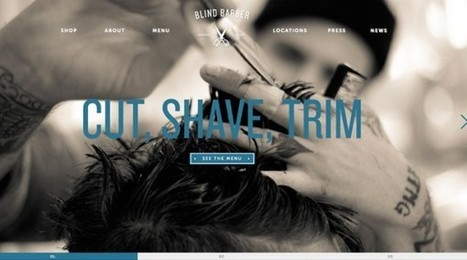 30 Examples of Typography Used in Web Design | CRAW | Scoop.it
