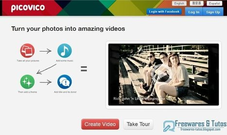 PicoVico : un service en ligne original pour créer des vidéos à partir de ses photos   Je, tu, il... nous !   Scoop.it