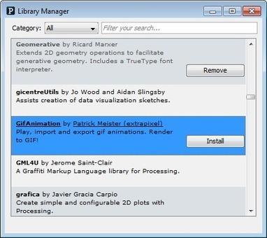 If(){design}else{art} » Blog Archive » Créer une animation GIF avec la librairie «gifAnimation»   DIY, Arduino & Processing   Scoop.it
