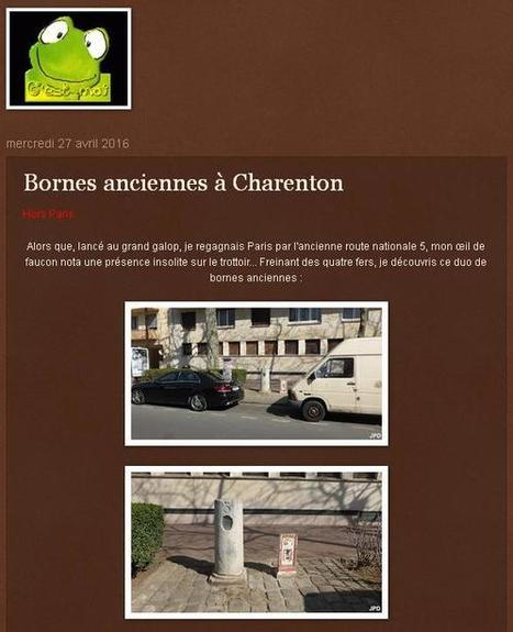 Article du jour (233) : Bornes anciennes à Charenton-le-Pont (94) | Charentonneau | Scoop.it