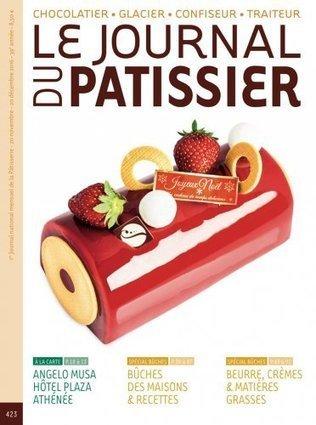 Le journal du pâtissier n°423 du 20 novembre 2016 | les revues au CDI | Scoop.it