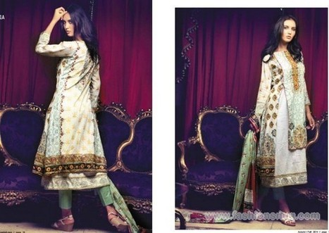 Firdous Fashion Autumn Fall Collection 2014 In Stores | Fashion Blog | Scoop.it