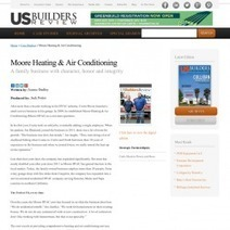 Moore HVAC's article has been published in the Winter III edition of US Builders Review | Visual.ly | Heating & Air Conditioning Services | Scoop.it