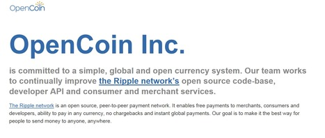 VC-backed OpenCoin looks to building Ripple into a Bitcoin-inspired universal payment system | Payments 2.0 | Scoop.it