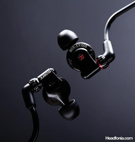 Japanese Flagship: Sony MDR-EX1000   omnidirectionnal speaker   Scoop.it