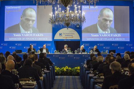 Yanis Varoufakis: Presenting an agenda for Europe at AMBROSETTI (Lake Como, 14th March 2015) | Money News | Scoop.it