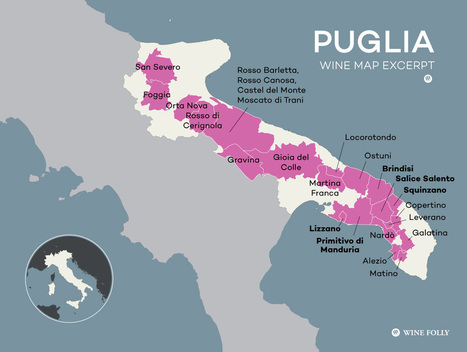 Puglia Wine is Italy's Secret to Value | Italia Mia | Scoop.it