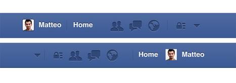 Facebook aggiorna l'interfaccia web: ecco la nuova barra superiore | Tecnologie: Soluzioni ICT per il Turismo | Scoop.it