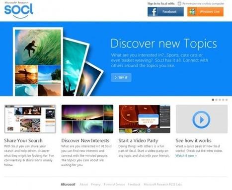 So.cl, le nouveau réseau social de Microsoft | Digital Experiences by David Labouré | Scoop.it