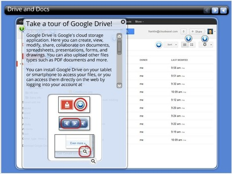 Google Drive Interactive Tour - Google Apps Learning Center | Moodle and Web 2.0 | Scoop.it