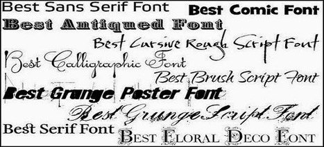 Internet Is Now the Best Source When Looking for Unique and Impressive Fonts | KMF News | Scoop.it