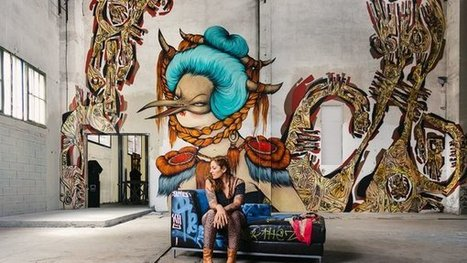 The Writing Is on the Wall - New York Times | girls who art & graffiti | Scoop.it