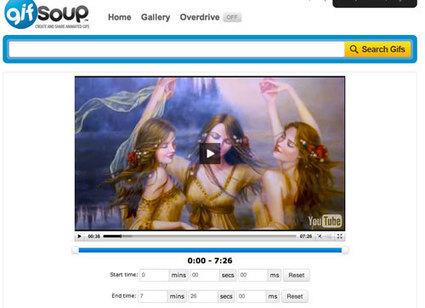 GifSoup, crea imágenes animadas a partir de vídeos de Youtube. Educa con TIC | Las TIC y la Educación | Scoop.it