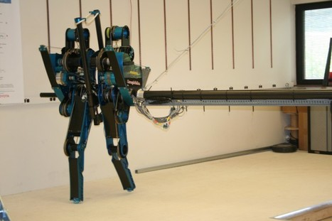 World's fastest two-legged robot goes for a run | Robotics Frontiers | Scoop.it