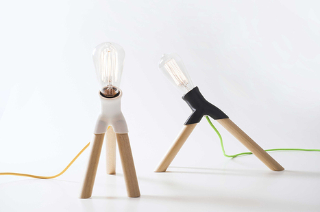 design MID repurposes household objects in fantasia lamps - designboom | architecture & design magazine | product design, light | Scoop.it