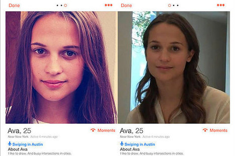 A Tinder User Was Catfished By A Movie Marketing Robot | social | Scoop.it