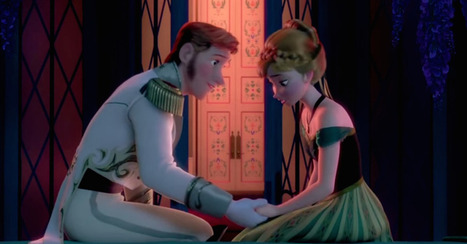 'Frozen' With 'Fifty Shades of Grey' Ruins Disney's Innocence video | Prozac Moments | Scoop.it