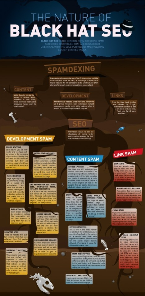 [Infographie] Le référencement Black Hat - Websourcing.fr | E LEARNING | Scoop.it