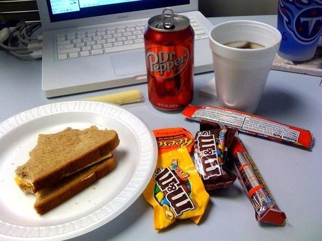 It's Official: Snacking at Work Makes You Eat More | Marketing and Design | Scoop.it