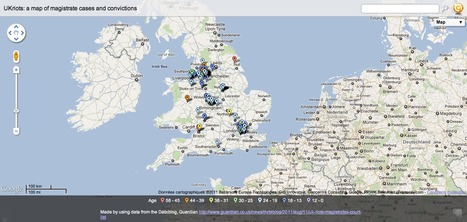 UKriots: a map of magistrate cases and convictions | London riots maps | Scoop.it