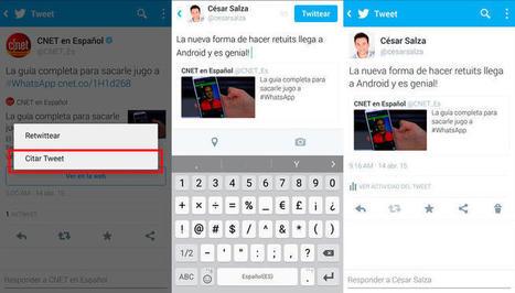 Nueva forma de citar tuits llega a Twitter para Android | Social Media Marketing: desenredando las redes | Scoop.it
