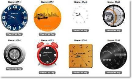 Relojes para tu blog o sitio web   Recursos Web   eLearning   Scoop.it