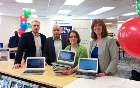 You can borrow Chrome books at the Brampton Library | Ontario Library Smiles | Scoop.it