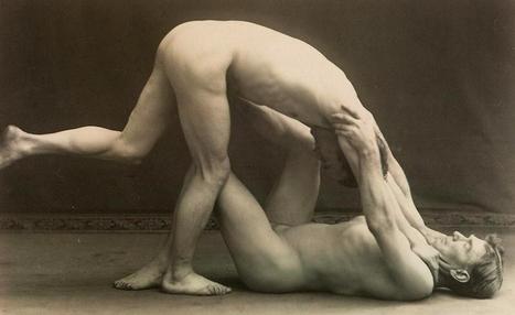 Vintage Nude Male Wrestlers | Sex History | Scoop.it