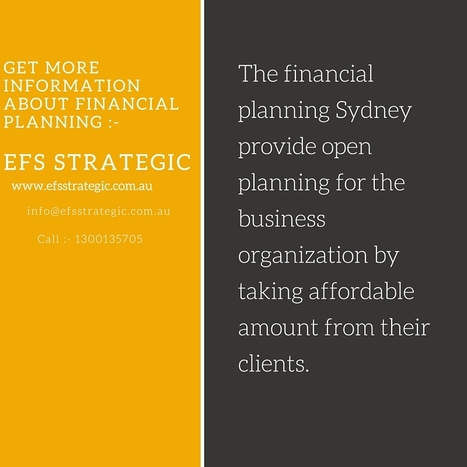 The Best Approach To Financial Planning Is Derived From Expert Guidance | Accounting & Financial services | Scoop.it