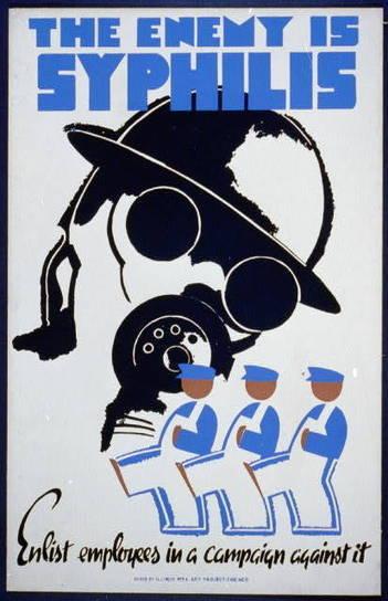 The sheer terror of syphilis (as seen in 1930s posters)   Digital-News on Scoop.it today   Scoop.it